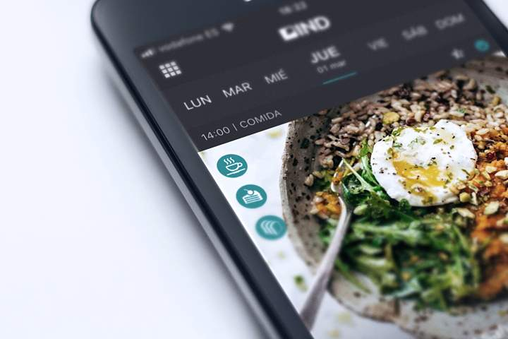 App, IND, Menu, Recetas, Recetas para Deportistas, Menu semanal, Menu personalizado, Dieta personalizada, Dieta