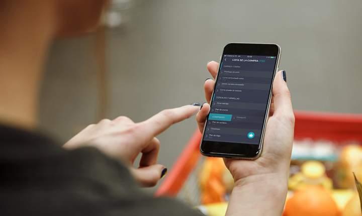 App, IND, cesta de la compra, lista de la compra, compra, comprar, super, supermercado, mercado